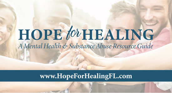 Hope for Healing Florida banner