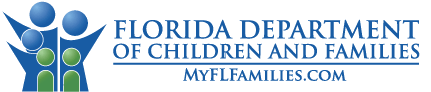 Clicking the Department of Children and Families logo will take you to the main department website