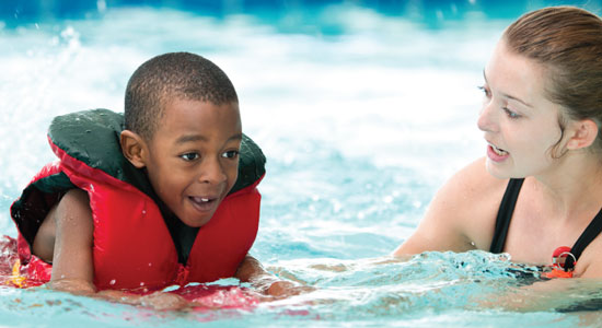 click to learn more information on water safety